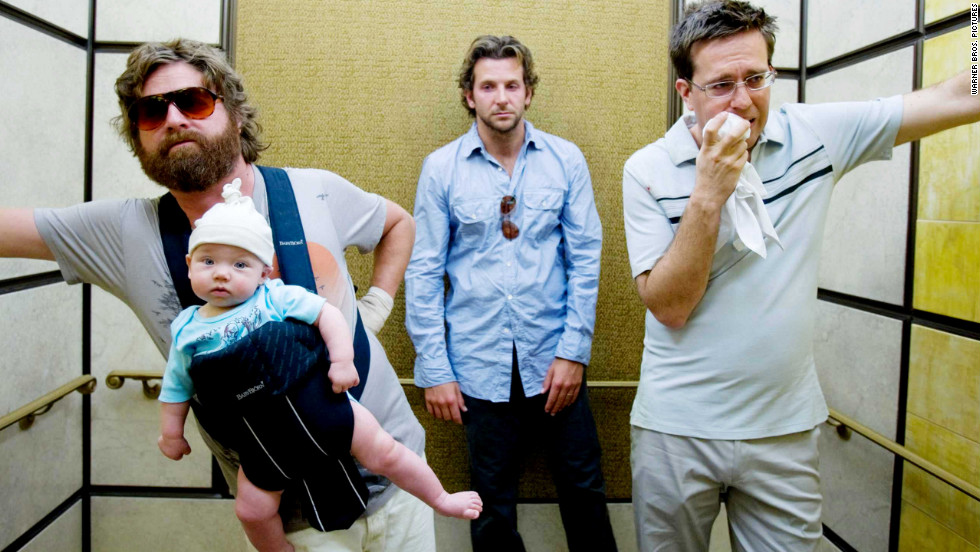 "What can go wrong during a Vegas bachelor party? If you're in<strong> ""The Hangover"" </strong>(2009), you'll have to piece it together after a drunken night, including the whereabouts of the groom. <em>Lesson:</em> Stay away from roofies, and card-counting is a useful talent."