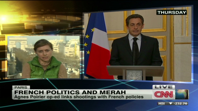 French politics and Toulouse suspect