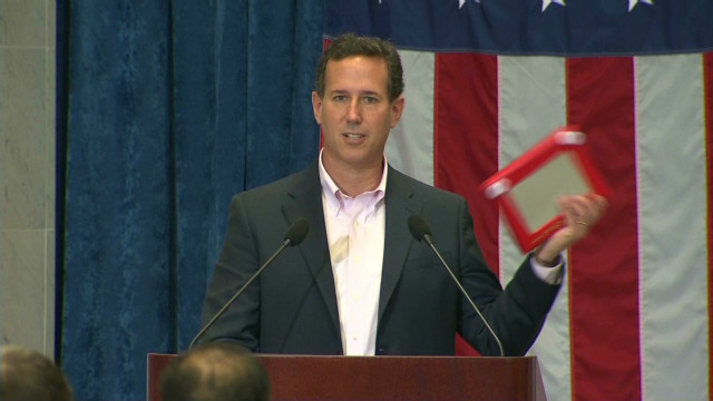 Santorum: Stick with Obama over Romney