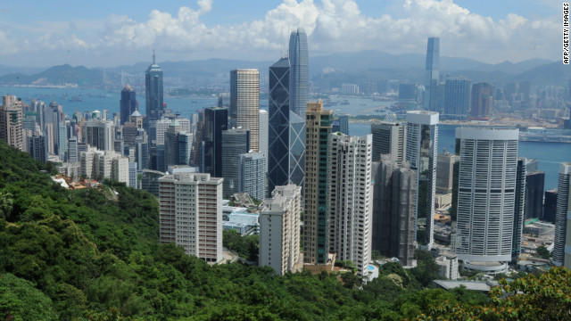 Hong Kong property sales have plunged 60% over the past year. Analysts say property prices have fallen 2%-3% since January.