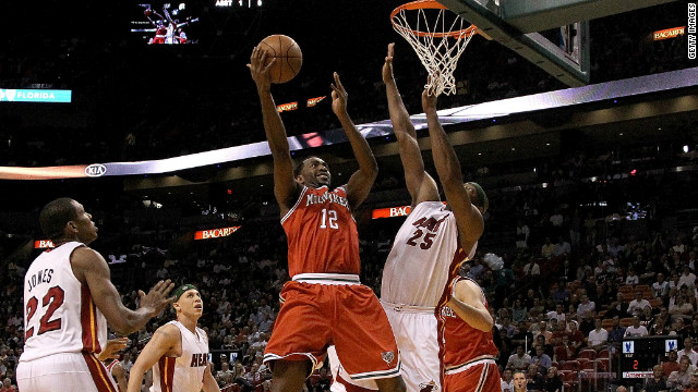 Luc Richard Mbah a Moute is a Cameroonian NBA star playing for the Milwaukee Bucks.