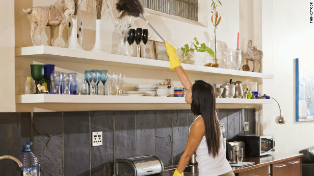 How To Clean The House how to fake a clean house - cnn