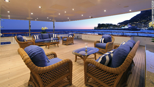 Below deck, Laurel is designed to exude a calssical aesthetic.