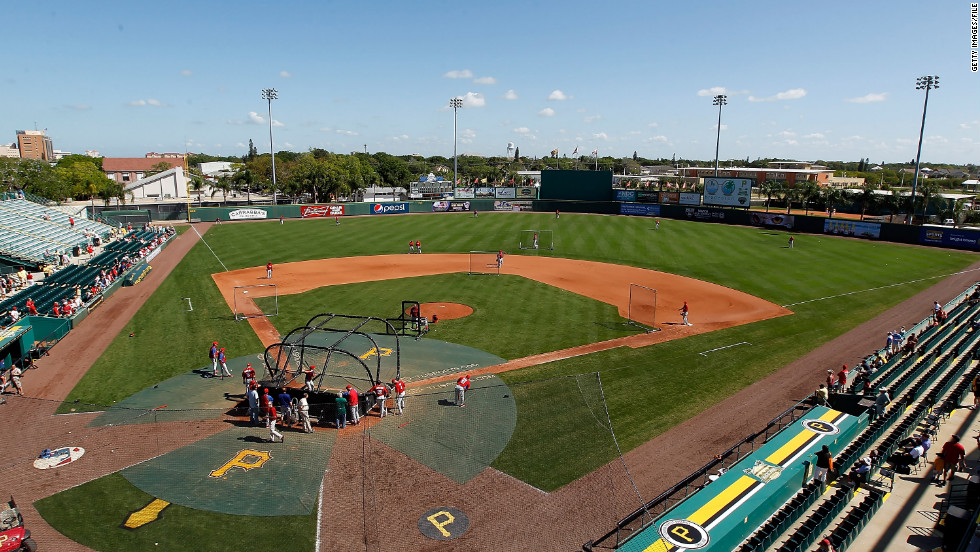 The Pittsburgh Pirates have played at McKechnie Field in Bradenton, Florida, for more than 40 years during spring training.