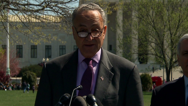 Schumer: Republican behavior 'baffling'
