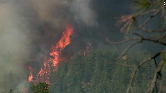 Colorado wildfires out of control