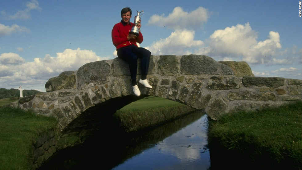 Nick Faldo won five majors in five years between 1987 and 1992, as well as finishing second in two others. His greatest year was 1990, with victories in both the Masters and British Open -- the latter by a dominant six strokes -- as well as being named player of the year on both the European and PGA Tours.