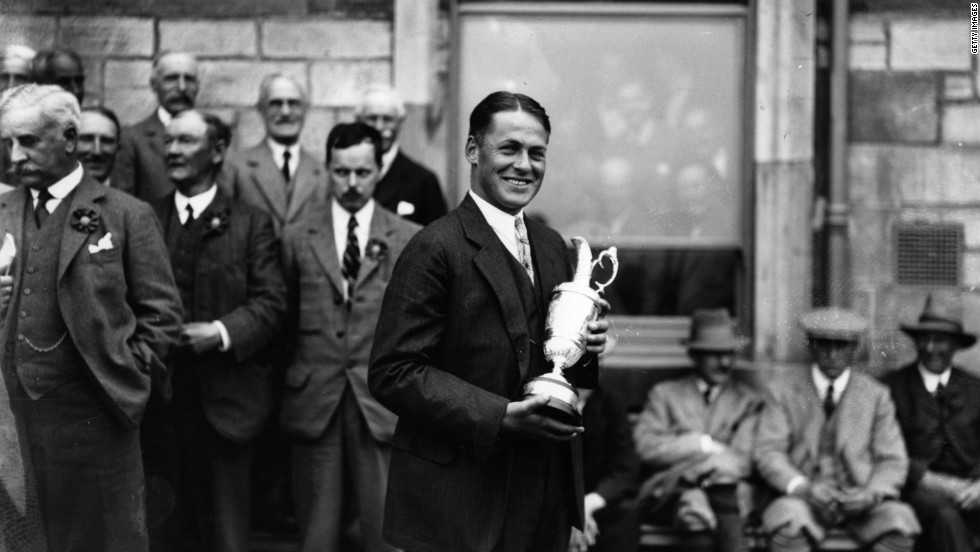 Bobby Jones was a remarkable character. A lawyer by trade, he was the leading amateur of his generation and would regularly beat the top professionals. In 1930 he won both the British Open and U.S. Open, as well as their amateur equivalents, for a grand slam that was never repeated. He retired aged just 28, but later founded Augusta National.