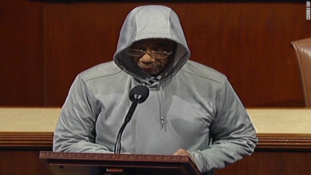 Congressman reprimanded for hoodie