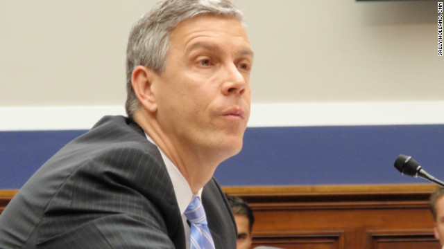 """Providing waivers was always, always our Plan B,"" Education Secretary Arne Duncan told senators."