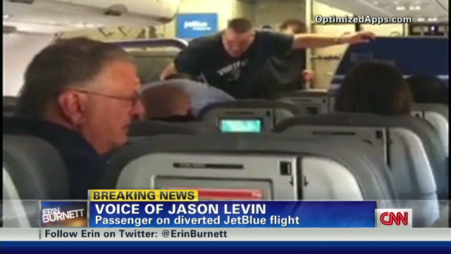 JetBlue passenger talks pilot incident
