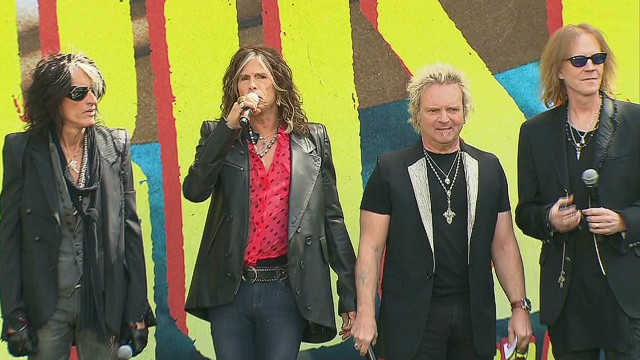 Aerosmith announces 'Global Warming' tour