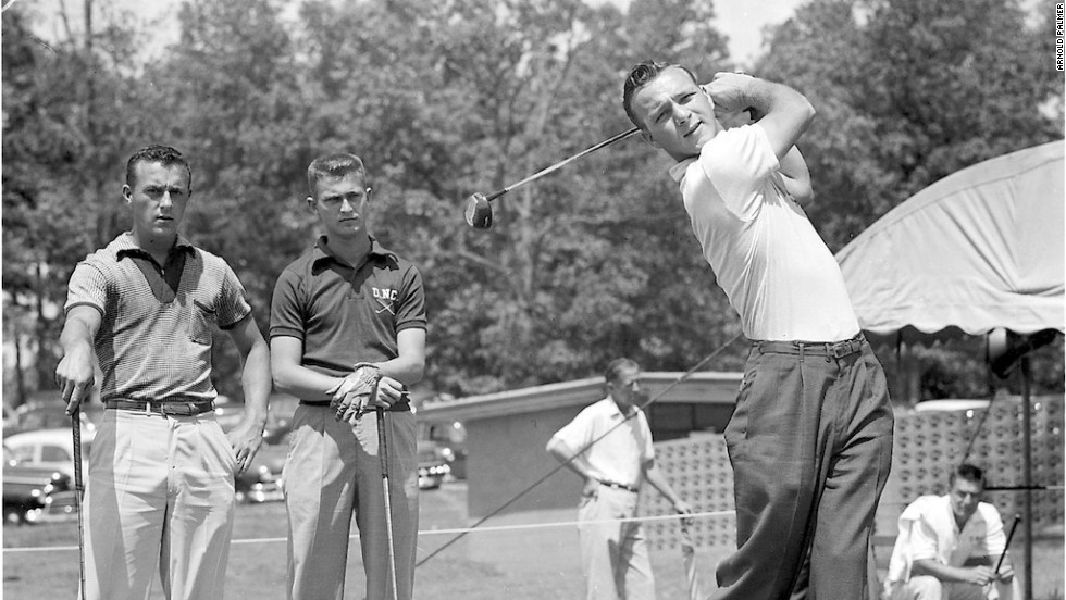 Palmer won the first of five West Penn Amateur Championships when he was 17 and went to Wake Forest University, where he became the golf team's top player and one of the leading lights on the college circuit.