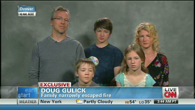 Gulick family on driving through 'hell'