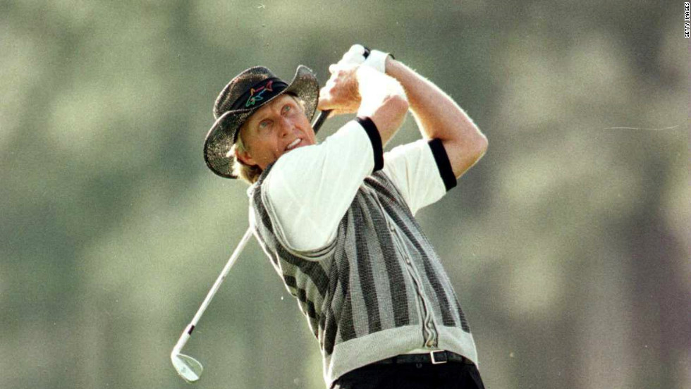 Two players hold the course record at Augusta National -- Zimbabwe's Nick Price fired a nine-under-par 63 in the third round in 1986 while Greg Norman repeated the feat in the opening round a decade later. Neither man won though, with Norman's efforts famously being canceled out by a disastrous closing 78 which handed England's Nick Faldo a third Green Jacket.