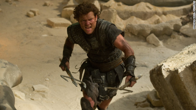 "Sam Worthington stars in ""Wrath of the Titans."""