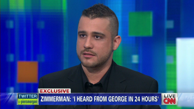 Zimmerman: Trayvon 'snuck up' on George