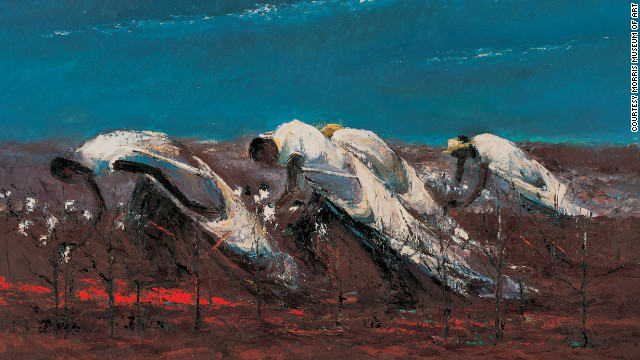 """From This Earth,"" by Lamar Dodd, is part of the Morris Museum of Art's collection."