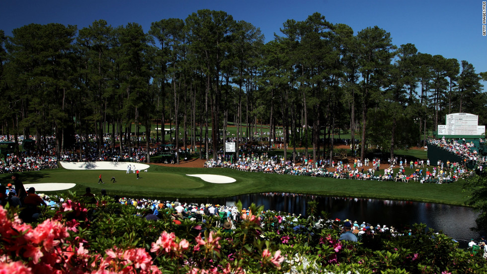 Augusta National Golf Course is not open to the public. Register soon for the chance to buy badges to next year's Masters tournament.