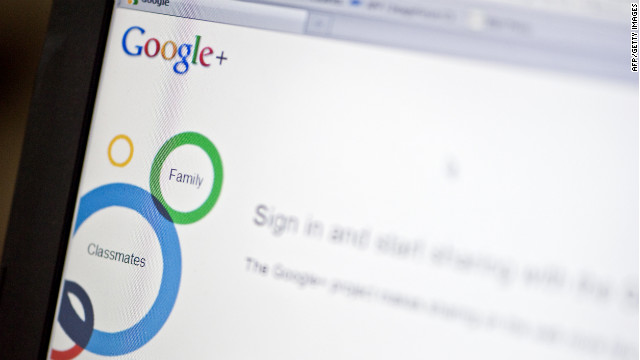 Google launched last year its own social networking site, Google +, as part of efforts to keep up with Facebook.
