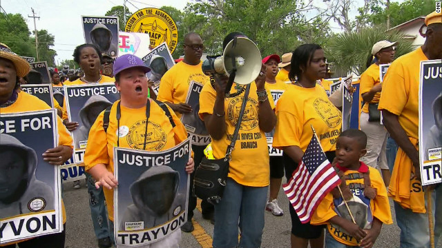 Trayvon Martin backers rally in Florida