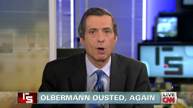 Olbermann ousted, again