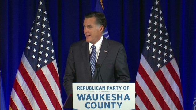 Santorum and Romney speak at GOP dinner