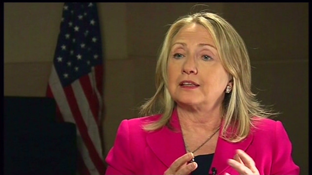 Clinton: Making progress on Syria