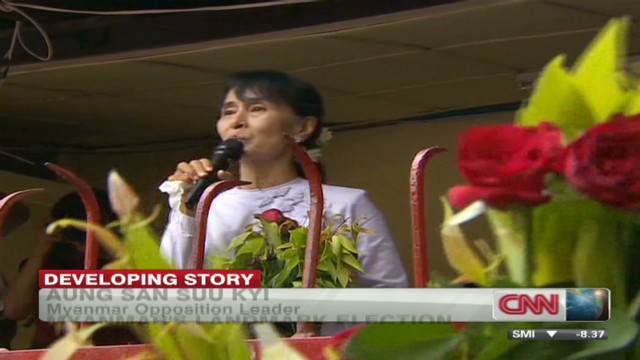 Landmark victory for Aung San Suu Kyi