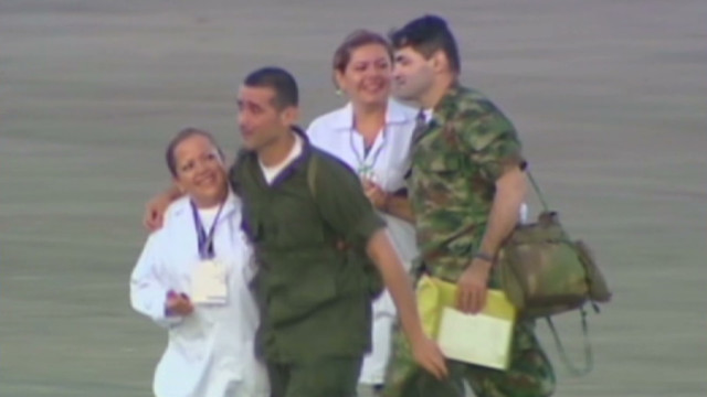 wr romo colombia hostages freed_00005828