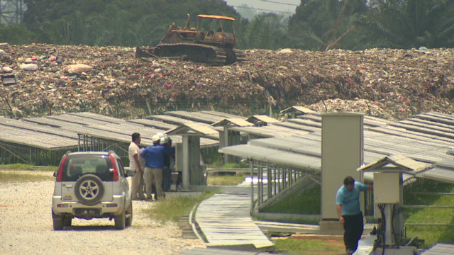 From landfill to green solution