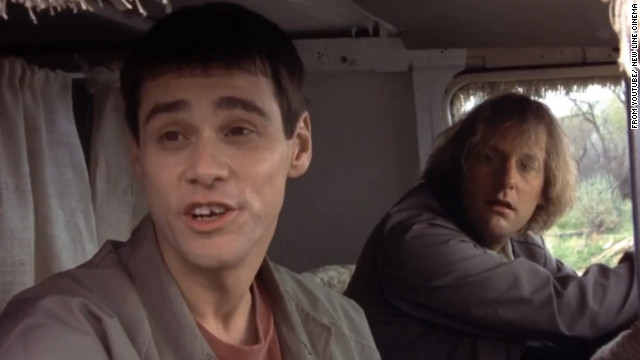 "A still from the 1994 movie ""Dumb and Dumber"" with Jim Carrey (left) and Jeff Daniels."
