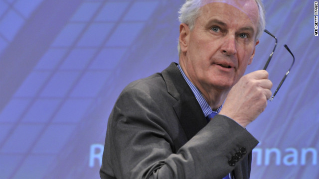 File photo of the EU commissioner for Internal Market and Services Michel Barnier.