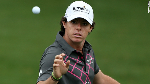 U.S. Open champion Rory McIlroy has been paired with  Angel Cabrera and Bubba Watson.
