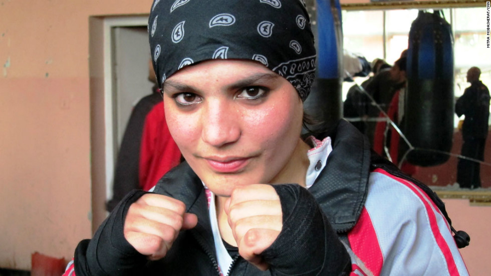 17-year-old Sadaf Rahimi was given a wild card to compete in the 2012 Olympic Games in London.