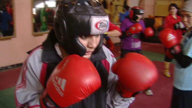 Women's boxing in Afghanistan