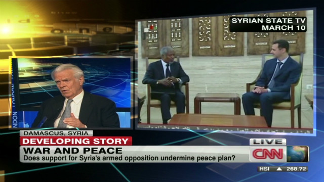 Peace plan backlash in Syria?
