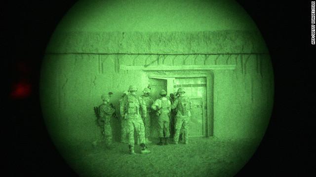 Karzai  on night raid deal