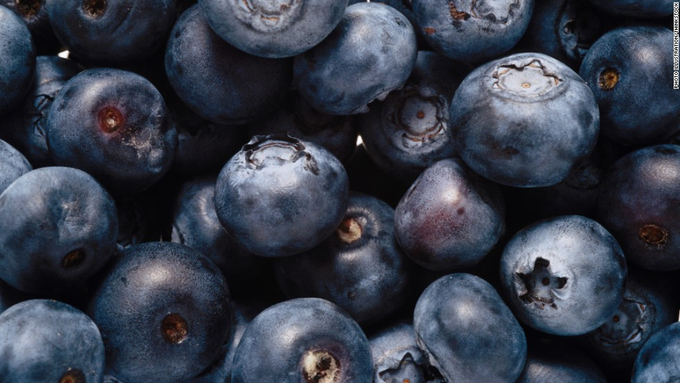 Blueberries contain antioxidants called anthocyanins, which have been shown in animal studies to improve brain cells' resilience, enhancing learning and memory.