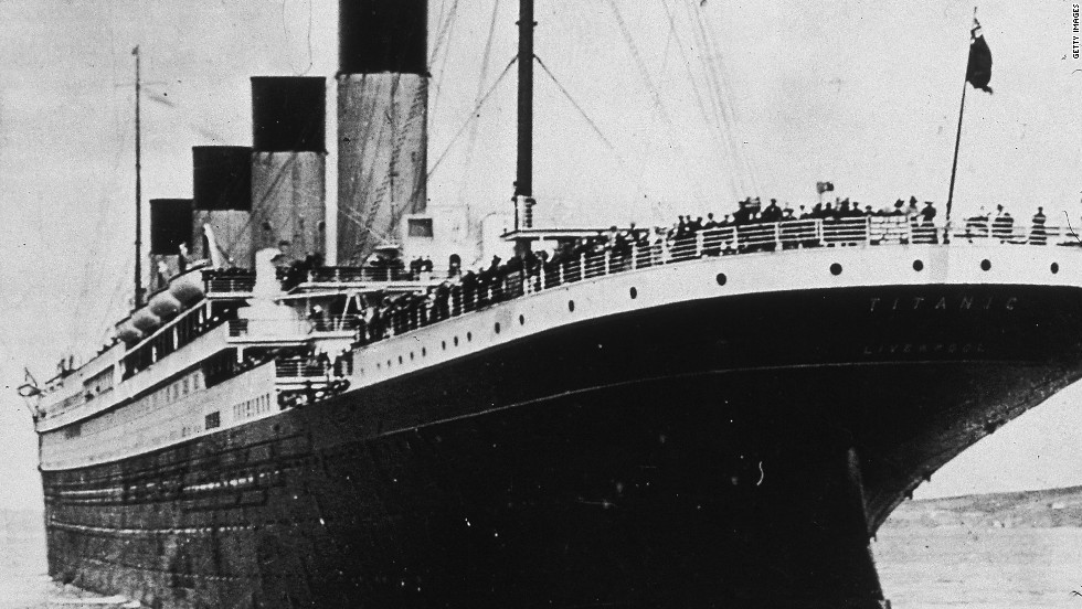 The Titanic starts off on her first and last voyage, leaving Queenstown, now Cobh, Ireland, on April 10, 1912.