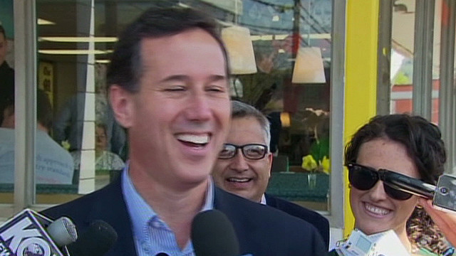 Santorum: 'Plan to win' in Pennsylvania
