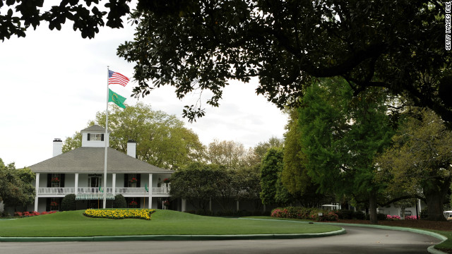 Augusta National's men-only policy is stirring controversy as the Masters Tournament begins.