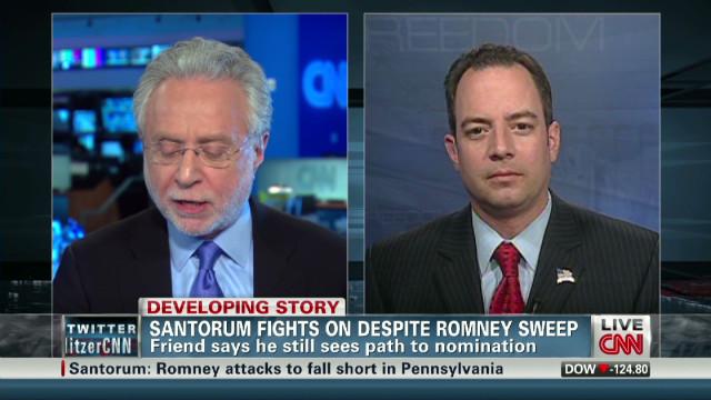 How much longer for Rick Santorum?