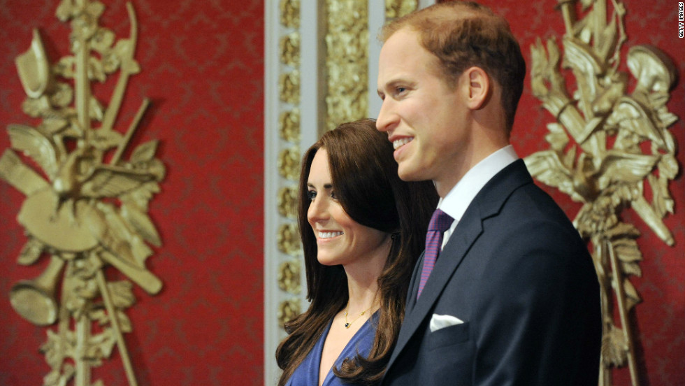 "Wax figures of the couple are also going on display at Madame Tussauds in New York, Amsterdam and Blackpool, England. Each ""Kate"" will be shown in a different outfit."
