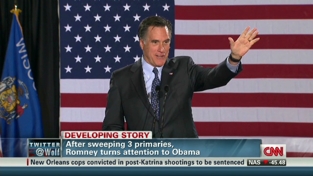 Romney pivots toward general election