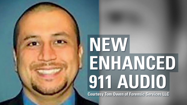 Enhanced audio on Zimmerman call