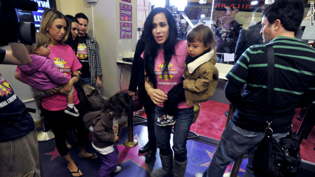 'Octomom' Nadya Suleman must serve two years probation and work 200 hours community service for a welfare fraud conviction.