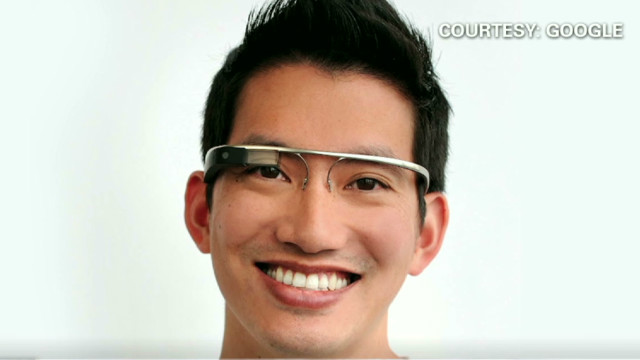 2012: Google's augmented reality glasses