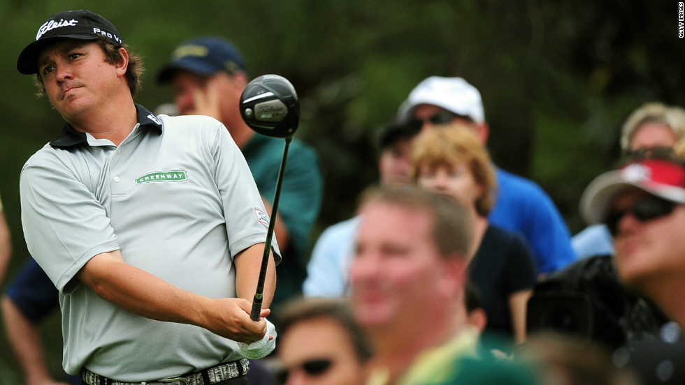 Jason Dufner was two shots behind Westwood in a group of players tied for third which included fellow Americans Ben Crane and Bubba Watson.