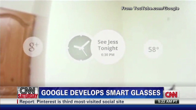 2012: Google develops 'smart glasses'